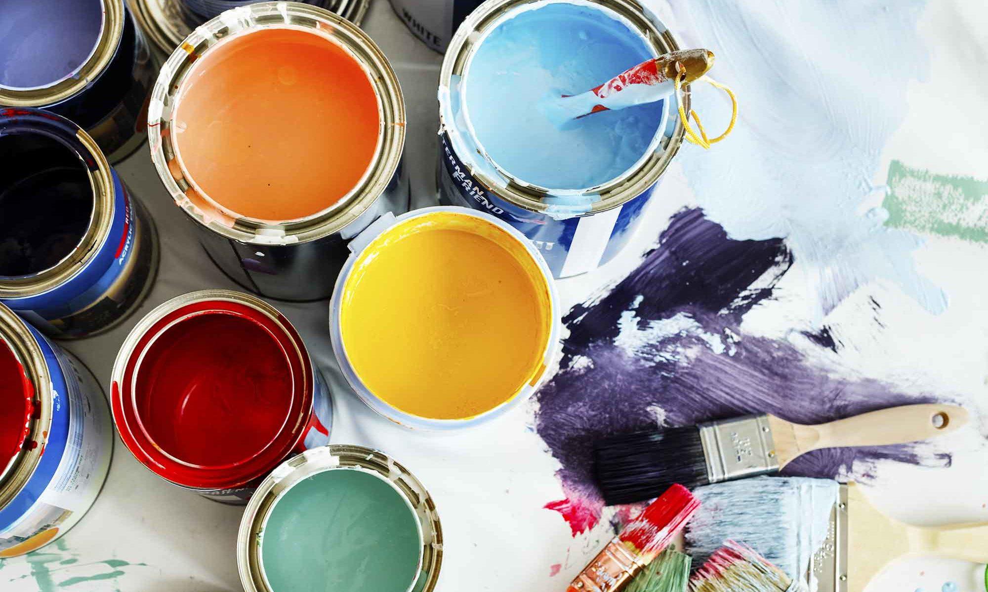Loveland Painting Rainbow House Painting